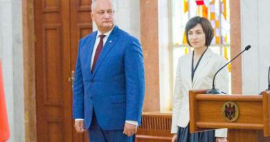 Foto Майя Санду и Игорь Додон выходят во второй тур президентских выборов 3 24.07.2021