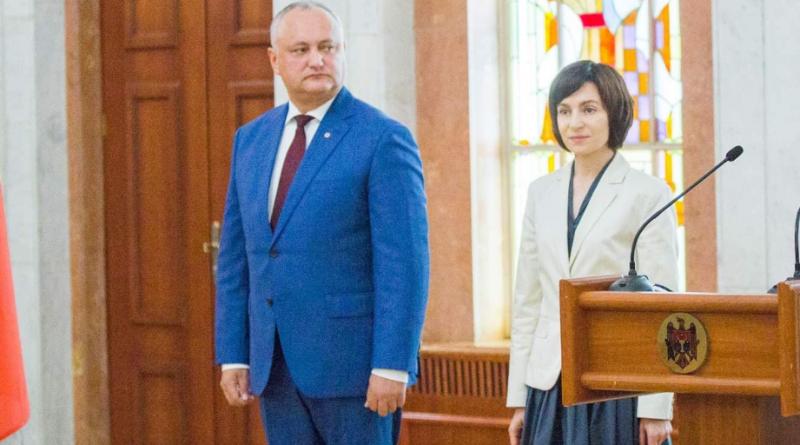 Майя Санду и Игорь Додон выходят во второй тур президентских выборов 21 15.05.2021