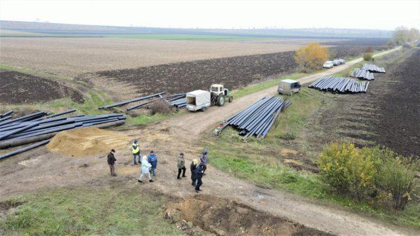 În comunele Cuhnești și Balatina din raionul Glodeni se desfășoară lucrări de asigurare a accesului la apă potabilă din râul Prut