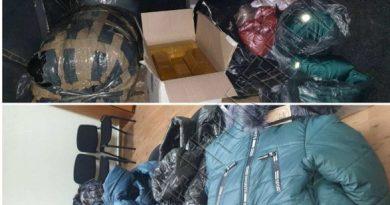 Un bărbat din raionul Fălești a fost reținut pentru transportarea îmbrăcămintei fără acte de proveniență