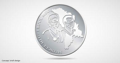 BNM a aprobat conceptul monedei comemorative dedicată medicilor