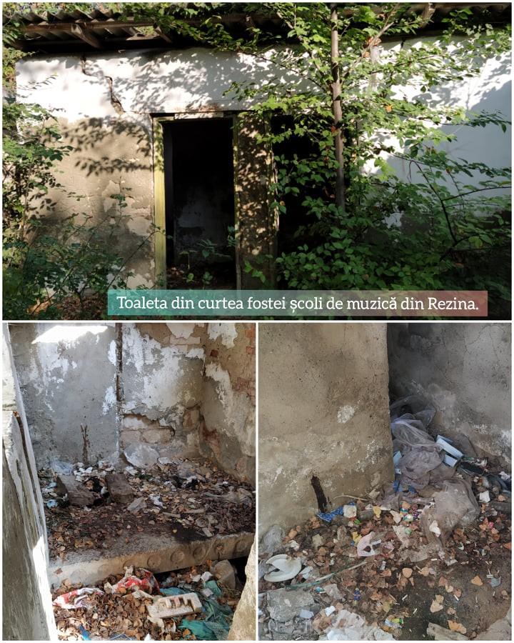/FOTO/ Toaletele publice din orașul Rezina se află într-o stare deplorabilă 1
