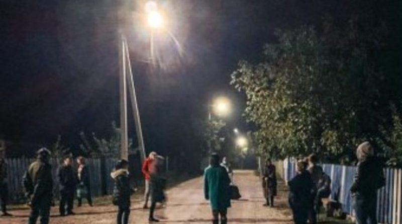 Comuna Bilicenii Vechi din raionul Sângerei a fost asigurată cu iluminat public stradal