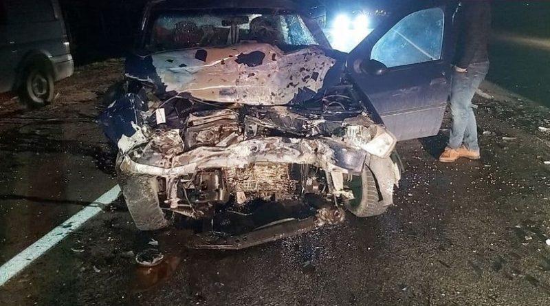 Accident grav în raionul Râșcani. Două automobile au fost avariate, după ce o șoferiță a pierdut controlul volanului și a ieșit pe contrasens