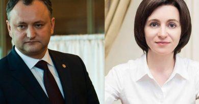 CEC a prezentat rezultatele preliminare. Maia Sandu îl învinge detașat pe Igor Dodon