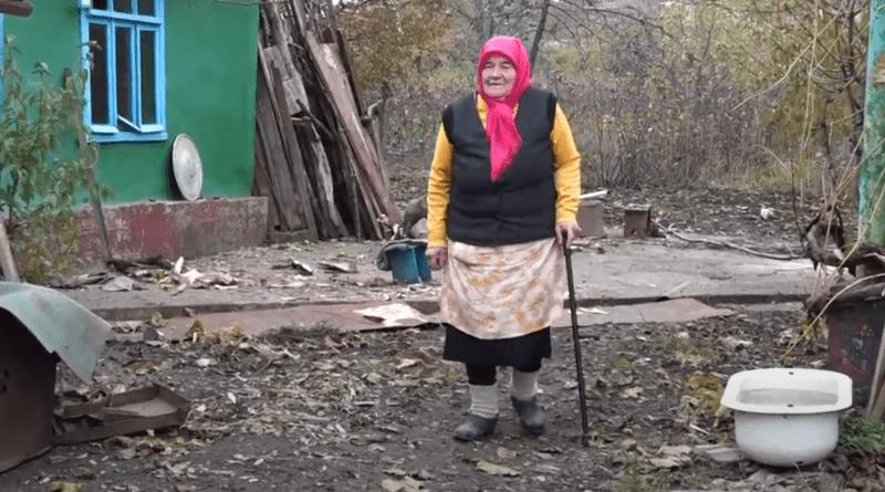 /VIDEO/ A trecut prin război, foamete și comunism. Descoperă povestea mătușii Anastasia în vârstă de 86 ani din raionul Glodeni