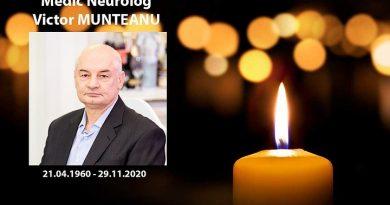 В Кишиневе скончался от коронавируса 60-летний Виктор Мунтяну, глава секции неврологии больницы Святой Троицы 3 15.05.2021