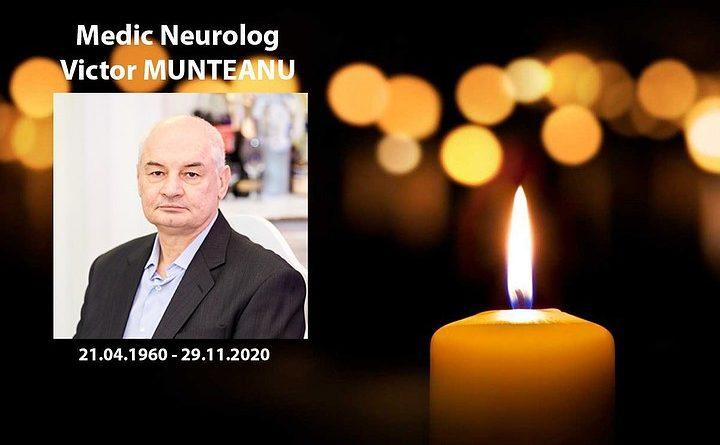 Foto В Кишиневе скончался от коронавируса 60-летний Виктор Мунтяну, глава секции неврологии больницы Святой Троицы 1 20.09.2021