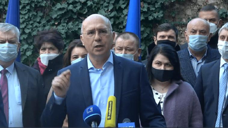 PDM își retrage miniștrii din Guvernul Chicu după alegerile prezidențiale