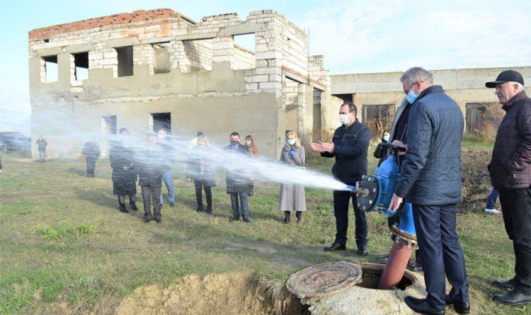 Lucrările apeductului magistral Prut – Fălești au fost finalizate
