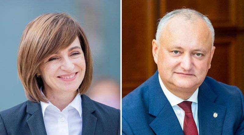 Майя Санду обходит Игоря Додона в первом туре президентских выборов 20 15.05.2021