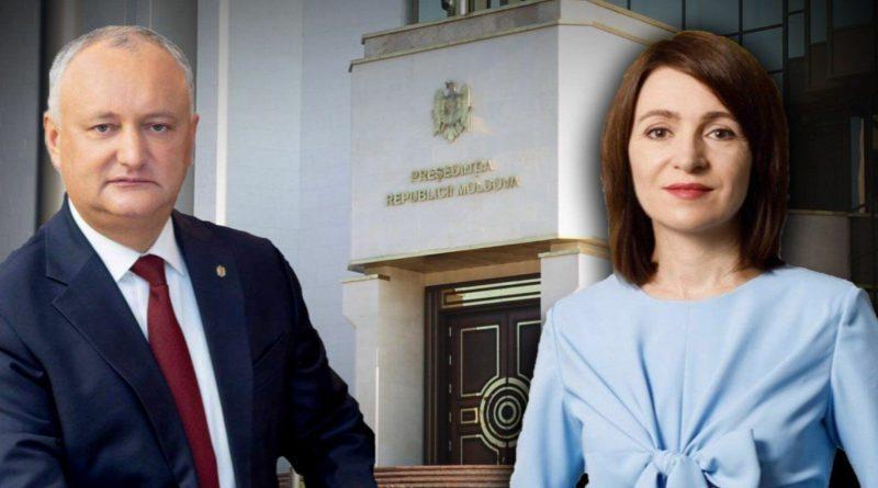 Igor Dodon a felicitat-o pe Maia Sandu cu ocazia validării mandatului în funcție de șef al statului