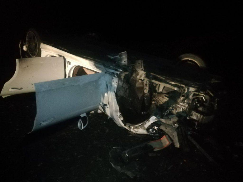 Foto /FOTO/ Un tânăr a ajuns la spital, după ce s-a inversat cu automobilul în raionul Dondușeni 1 14.06.2021