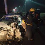 /FOTO/ Accident violent pe un traseu din raionul Florești. O persoană a ajuns la spital