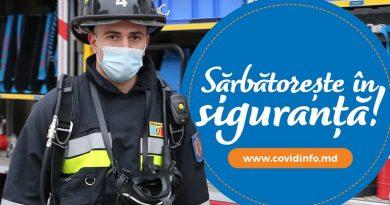 """/VIDEO/ """"Fiți în siguranță"""" Salvatorii și pompierii au lansat un spot prin care îndeamnă oamenii să respecte măsurile anti-COVID"""