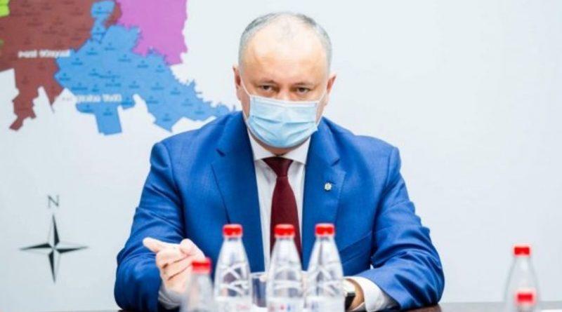 """Igor Dodon spune că se va vaccina numai cu Sputnik V: """" Nu am încredere în surogate occidentale"""""""