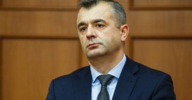 Prim-ministrul Ion Chicu testat pozitiv la COVID-19