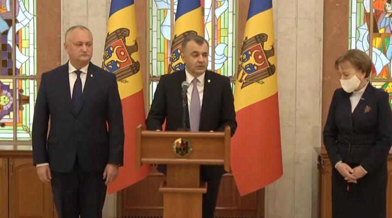 /ULTIMA ORĂ/ Guvernul Chicu și-a anunțat demisia 1 12.04.2021