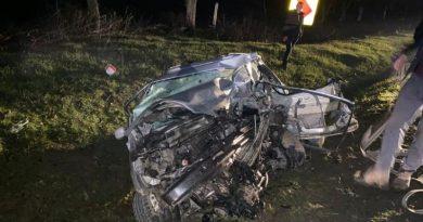 Accident violent în raionul Sângerei. O tânără în de 23 de ani a murit, după ce mașina pe care o conducea a fost lovită violent de un alt automobil
