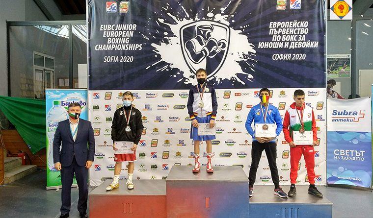 Молдова завоевала золотую и четыре бронзовые медали на Чемпионате Европы по боксу среди юношей и девушек в Софии 1 13.04.2021