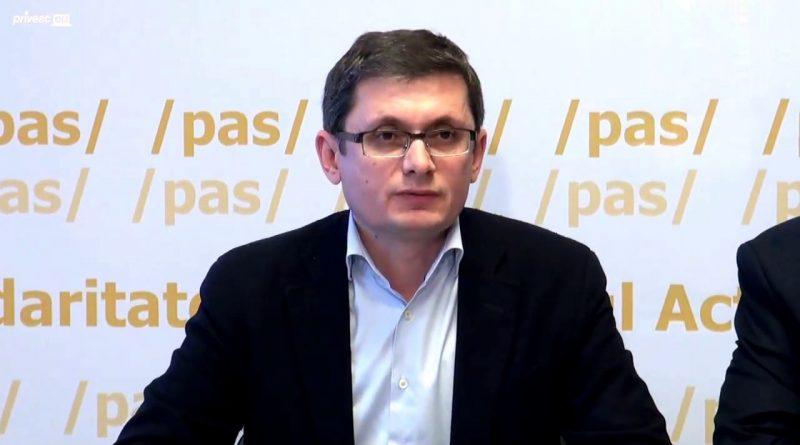 Партию «Действие и солидарность» (PAS) временно возглавит вице-председатель политформирования Игорь Гросу 1 14.04.2021