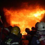 /VIDEO/ Mai mulți pompieri și salvatori au trecut testul de rezistență la foc