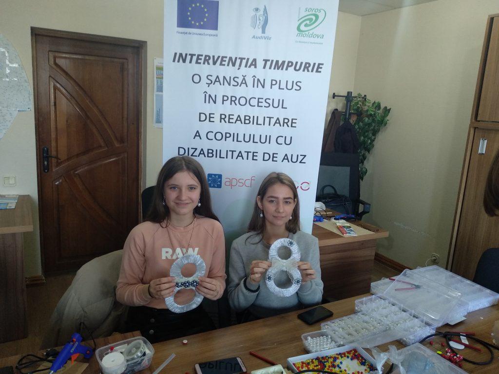 Centrul de Intervenție Timpurie pentru copiii cu deficiențe de auz deschis în nordul țării – Aici sunetele prind viață! 4 14.04.2021