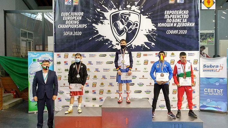 Sportivii Republicii Moldova au obținut o medalie de aur și patru de bronz la Campionatul European de box din Sofia