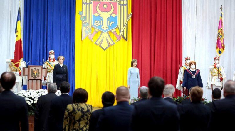 Câți bani din bugetul de stat au fost cheltuiți pentru ceremonia de învestire în funcție a Maiei Sandu