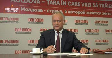Inițiativă legislativă înaintată de Igor Dodon: Deputații să depună jurământ în fața Parlamentului