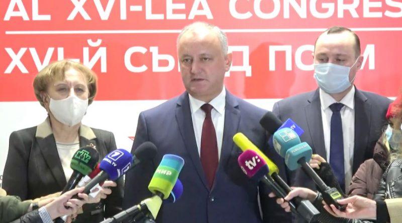 /ULTIMA ORĂ/ Igor Dodon a revenit la conducerea PSRM