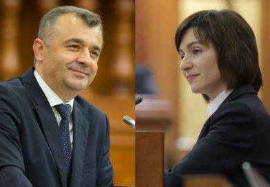 Maia Sandu a avut o discuție telefonică cu premierul Ion Chicu