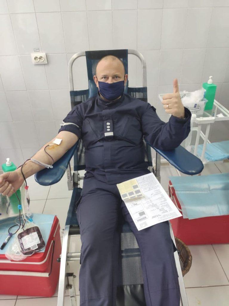 /FOTO/ Polițiștii de Frontieră din nordul țării donează sânge pentru salvarea oamenilor 1