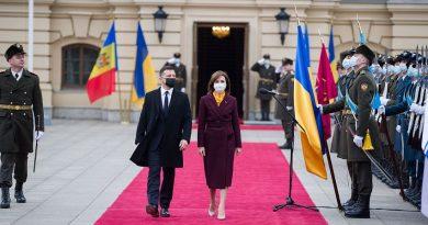 Foto 12 января, в Киеве состоялась официальная встреча между президентом Украины Владимиром Зеленским и президентом Молдовы Майей Санду 3 24.07.2021