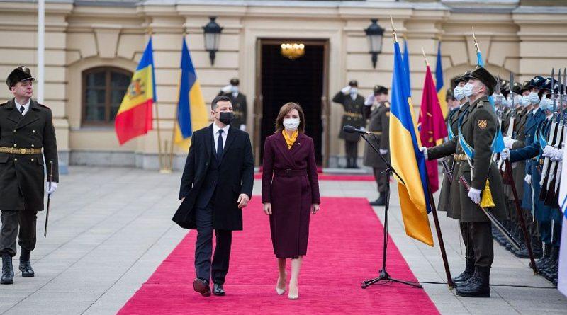 Foto 12 января, в Киеве состоялась официальная встреча между президентом Украины Владимиром Зеленским и президентом Молдовы Майей Санду 1 13.06.2021