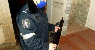 Trei arme ilegale au fost ridicate de către polițiști în raionul Dondușeni