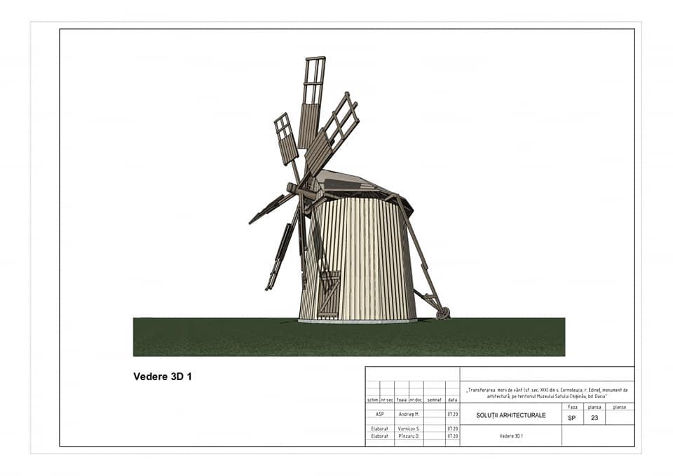 /FOTO/ Moara de vânt din satul Cernoleuca, raionul Dondușeni, va fi restaurată 3 15.05.2021