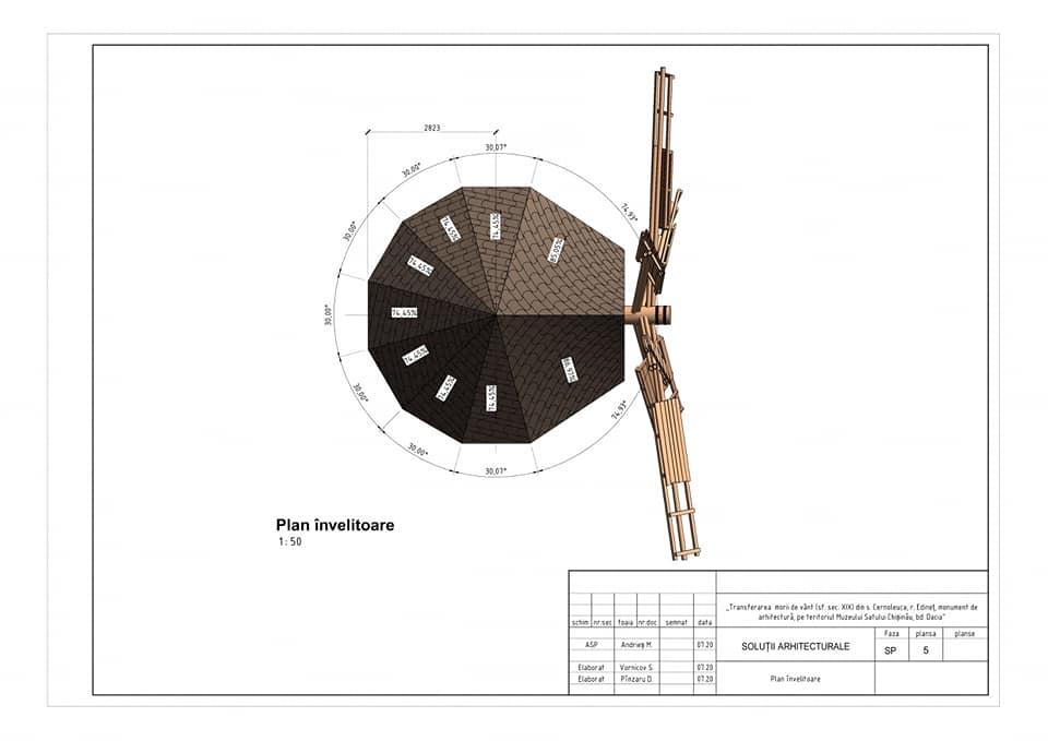 /FOTO/ Moara de vânt din satul Cernoleuca, raionul Dondușeni, va fi restaurată 4 15.05.2021