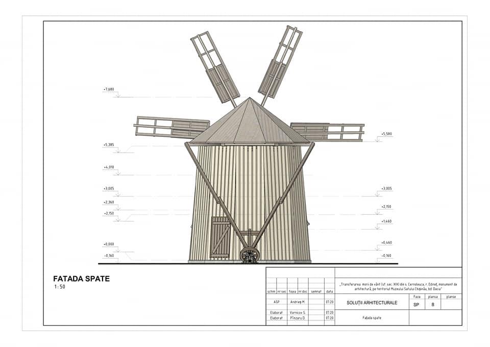 /FOTO/ Moara de vânt din satul Cernoleuca, raionul Dondușeni, va fi restaurată 5 15.05.2021