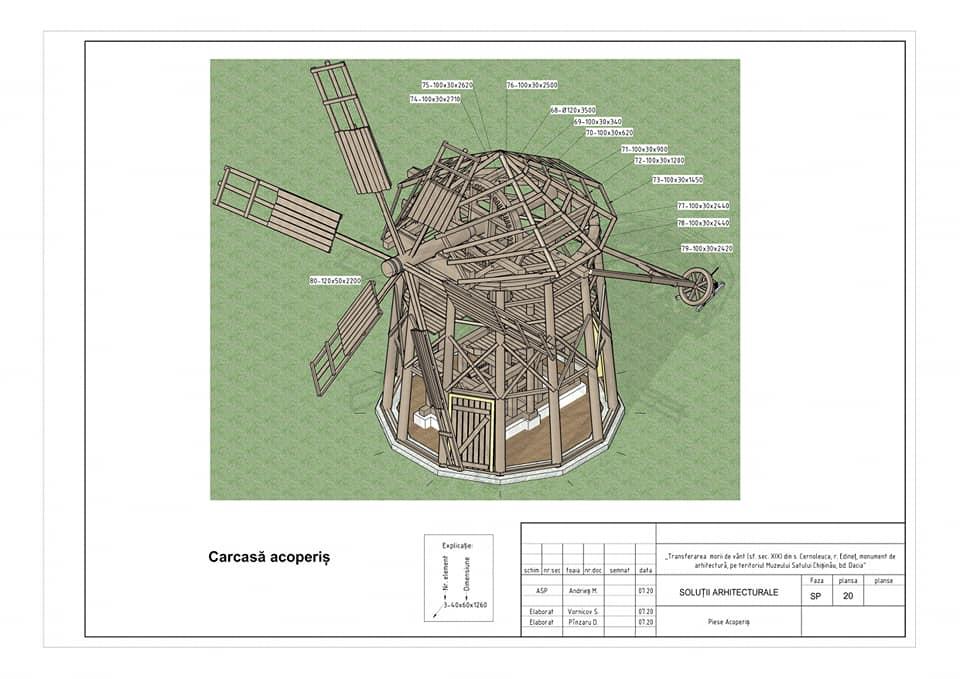 /FOTO/ Moara de vânt din satul Cernoleuca, raionul Dondușeni, va fi restaurată 6 15.05.2021
