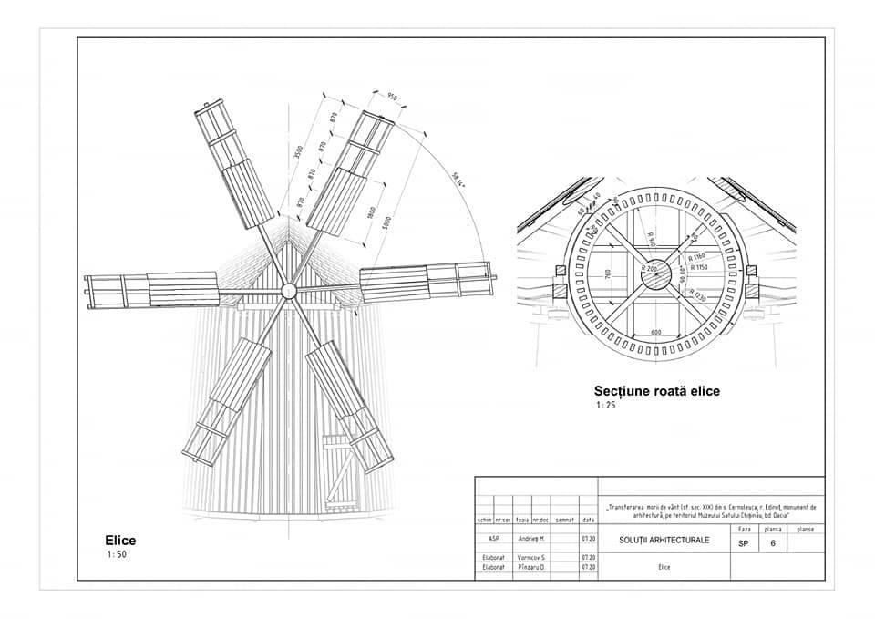 /FOTO/ Moara de vânt din satul Cernoleuca, raionul Dondușeni, va fi restaurată 7 15.05.2021