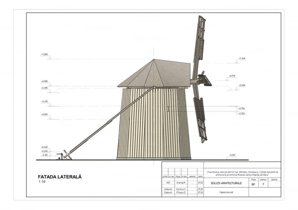 /FOTO/ Moara de vânt din satul Cernoleuca, raionul Dondușeni, va fi restaurată 8 15.05.2021
