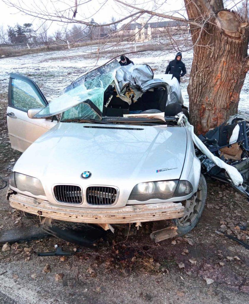/FOTO/ Grav accident în raionul Sângerei. O persoană a murit, iar altele două au ajuns la spital 1 08.03.2021