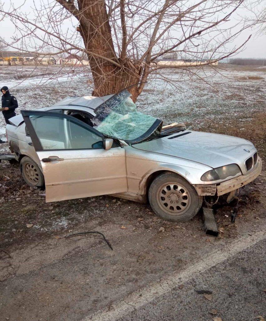 /FOTO/ Grav accident în raionul Sângerei. O persoană a murit, iar altele două au ajuns la spital 2 08.03.2021