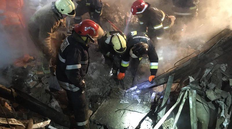 /VIDEO/ Deflagrația de la Sângerei: Salvatorii au stabilit cauza preliminară a exploziei