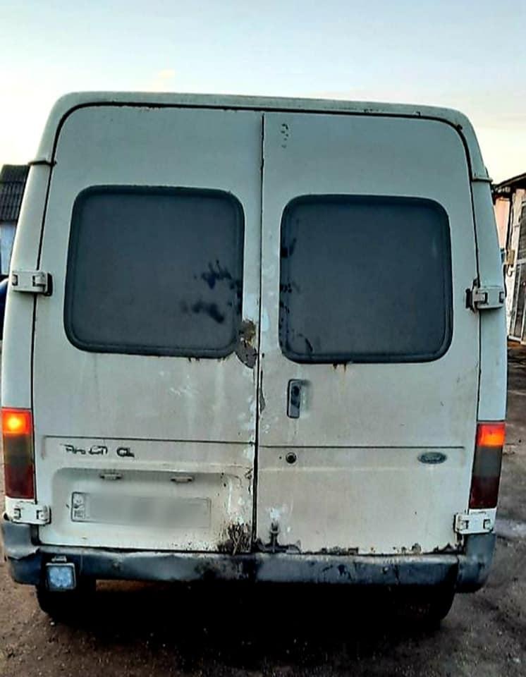 Foto /FOTO/ Microbuze pline cu metal uzat, fără acte de proveniență, depistate în raionul Dondușeni 1 18.09.2021