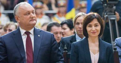 Игорь Додон: Президент Республики Молдова Майя Санду серьезно нарушает Конституцию страны