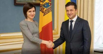 Президент Молдовы Майя Санду посетит Украину 12 января
