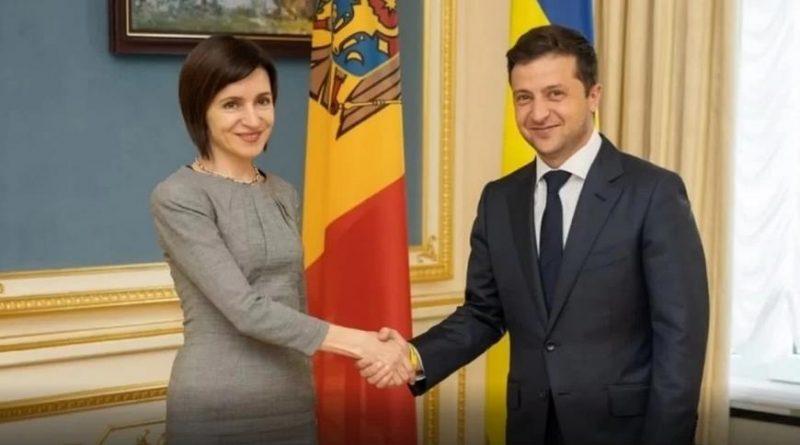 Foto Президент Молдовы Майя Санду посетит Украину 12 января 1 14.06.2021