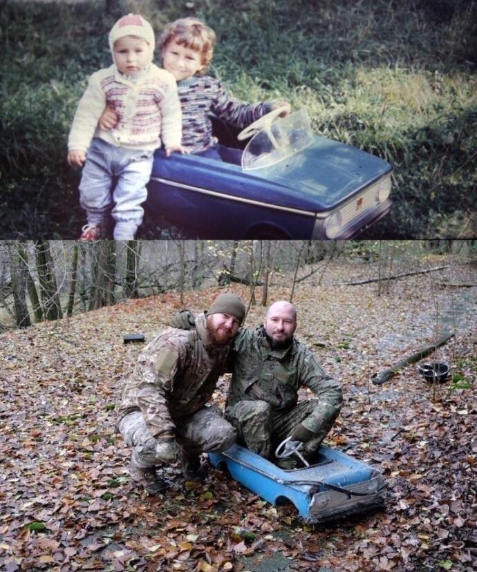 /FOTO/ După 30 de ani de la dezastrul nuclear din Cernobîl, doi frați s-au întors în orașul natal unde au găsit o părticică din copilăria lor 1 12.04.2021